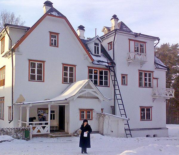 Основной дом усадьбы
