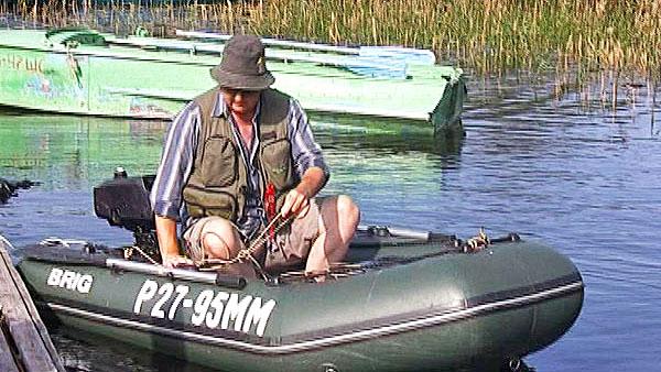 Лодка «Brig» с мотором