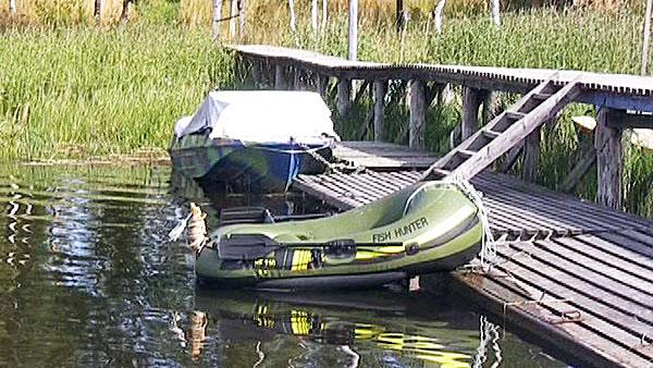 Лодка FishHunter