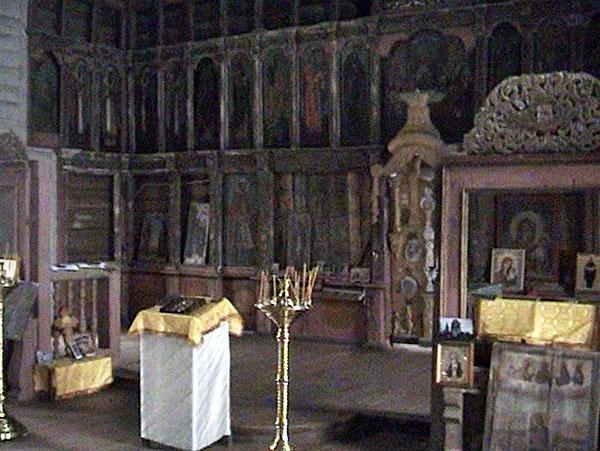 Лядины. Иконостас Покровско-Власьевской церкови церкви