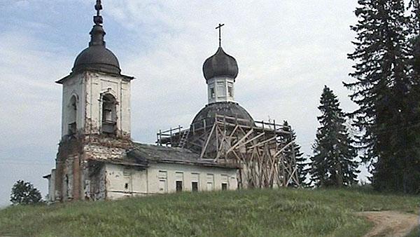 Церковь в селе Морщихинская