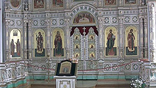 Иконостас церкви Воскресенского скит