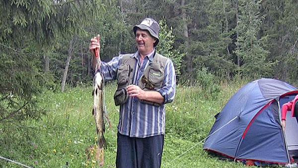Валаамский улов. Щука весом 1200 гр.