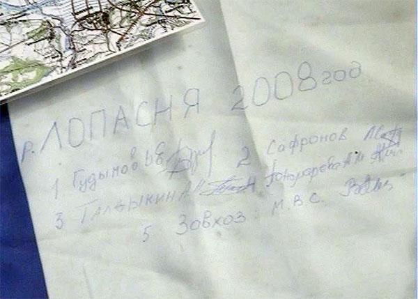 Имена участников занесены в анналы турклуба