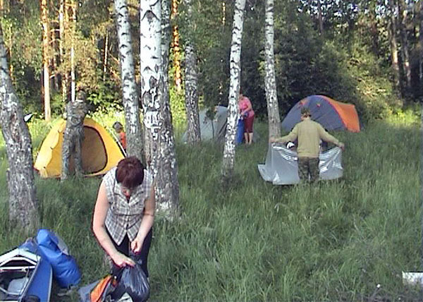 Здесь будет лагерь заложен