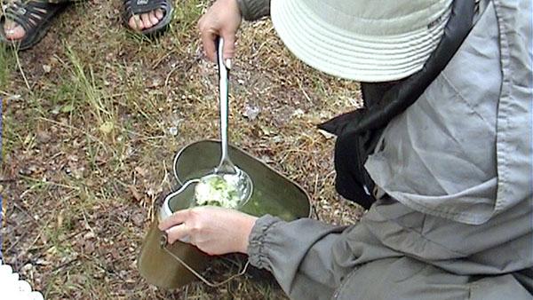 На обед что-то жидкое, зеленое и ВКУС-НО-ЕЕЕ!