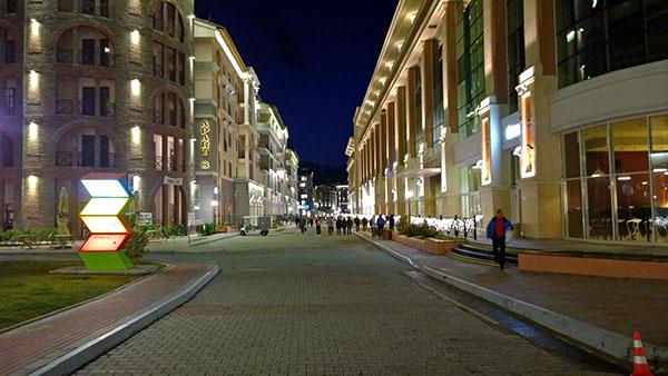 Вечерний Эсто садок (Эстонская улица)