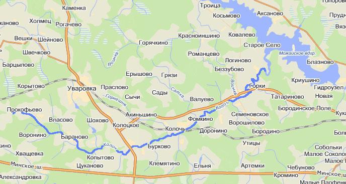 Река Колочь
