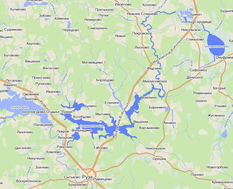 Река Озерна