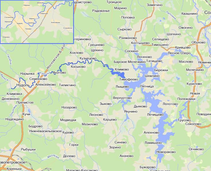 Река Нудоль