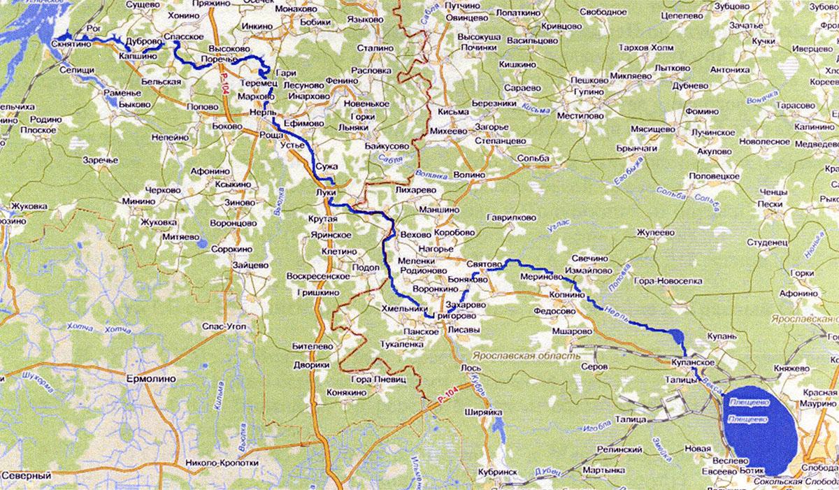 Река Нерль Волжская