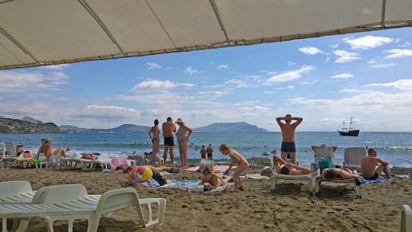 Пляж Нового света