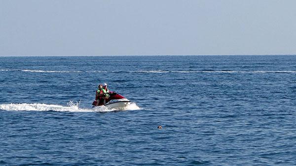 Катание на водном мотоцикле