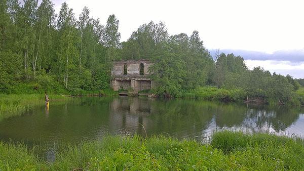 Развалины Колягинской ГЭС