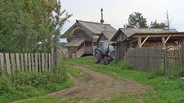 Часовня в Усть-Поче