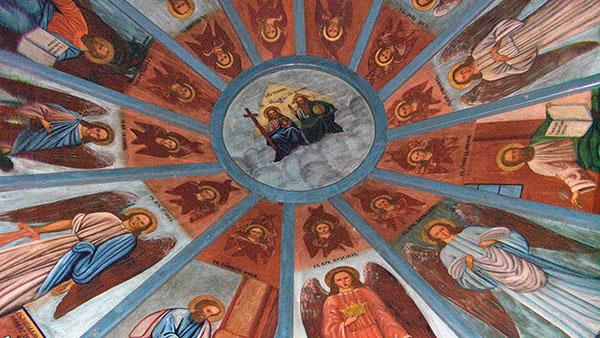 Небеса часовни в Усть-Поче