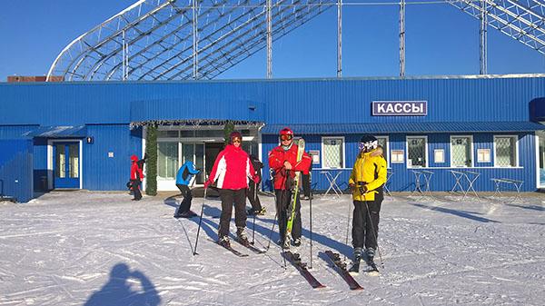 Первый выход на снег в новом сезоне