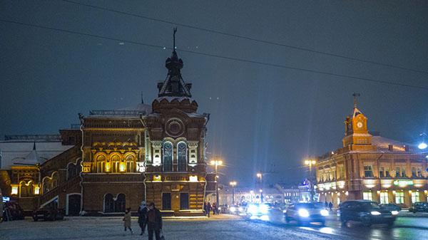 Ул Большая Московская. Бывшее здание городской думы
