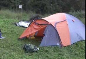 Наш лагерь на Валааме